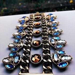Gold bracelet by Cache